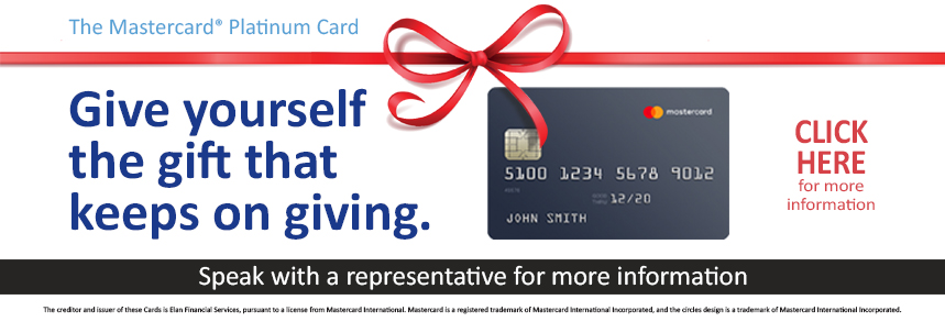 2018 Holiday Credit Card Offer