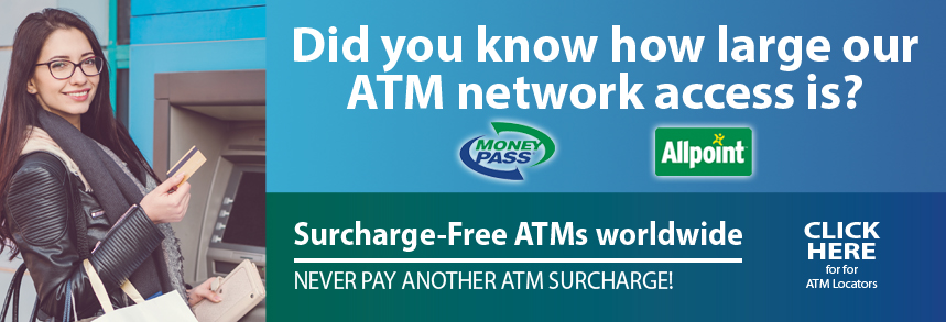 Did you know how large our ATM network access is?